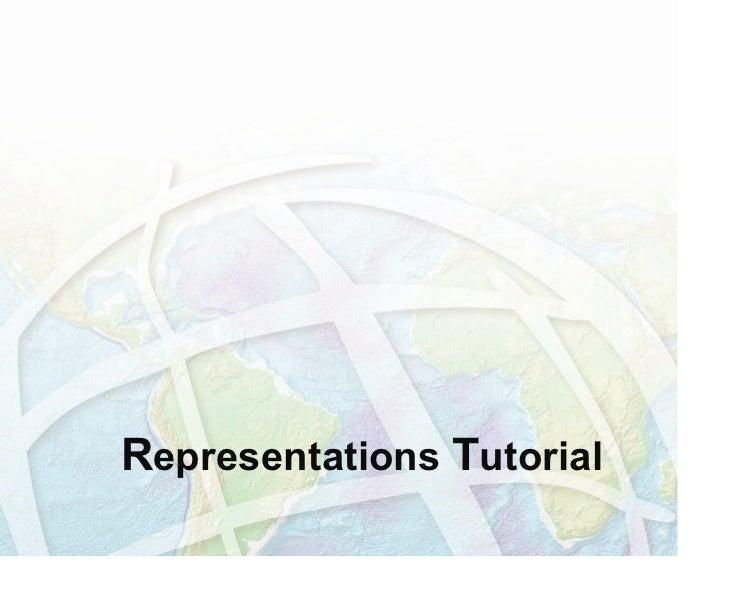 Representations tutorial