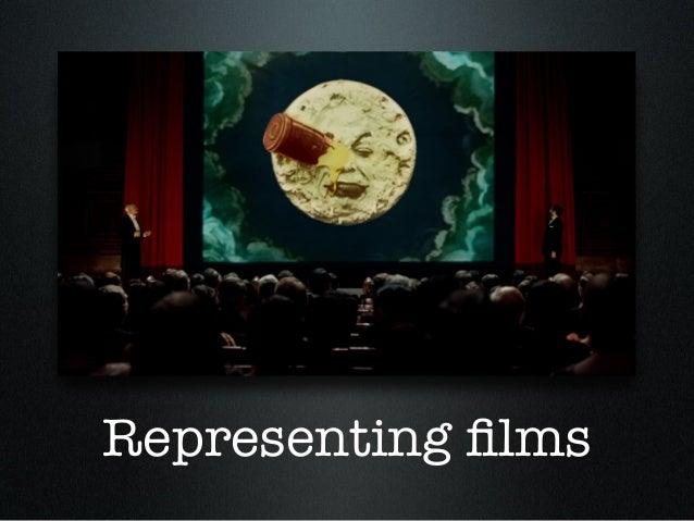 Representing films