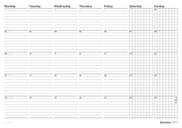 Monday            Tuesday   Wednesday   Thursday   Friday   Saturday   Sunday26 —Week52        27        28          29   ...