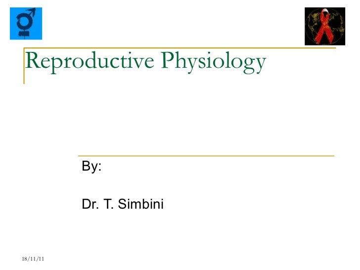 Reproductive Physiology By: Dr. T. Simbini