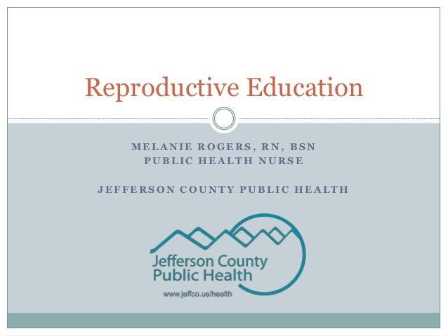 Reproductive education short version