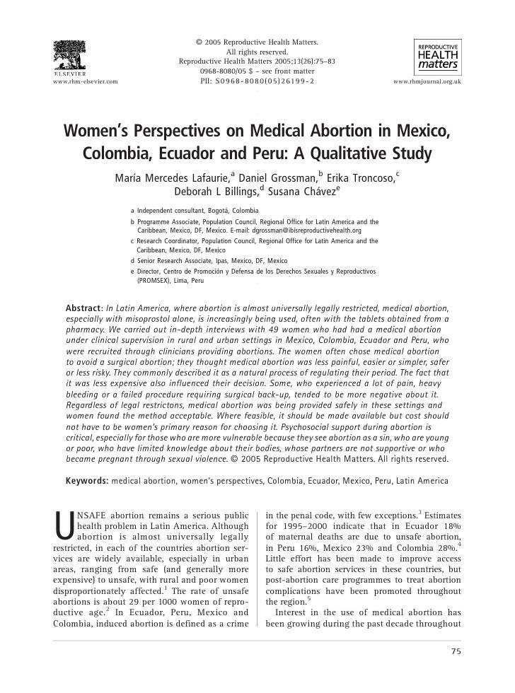 A 2005 Reproductive Health Matters.                                                       All rights reserved.            ...