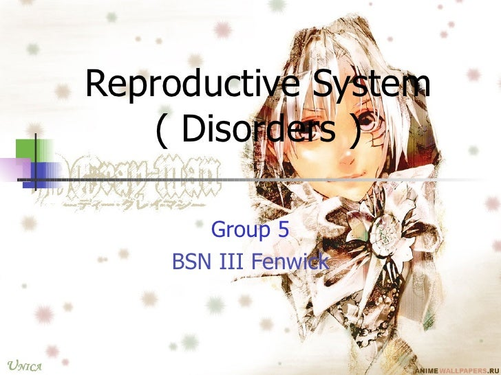 REPRODUCTIVE DISORDERS-FENWICK, FILAMER