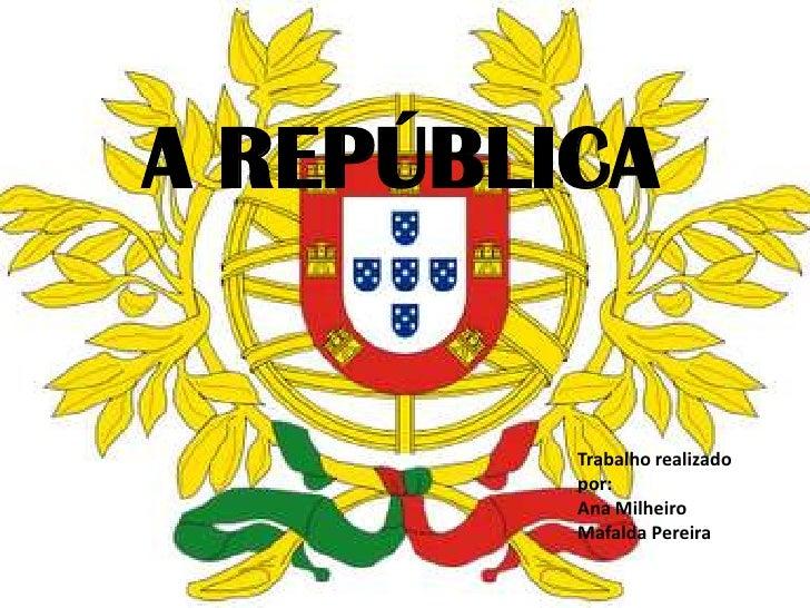 Republica ana e_mafalda
