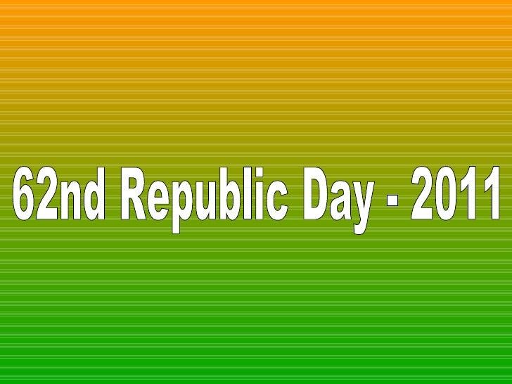 62nd Republic Day - 2011