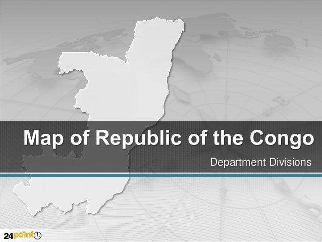 Republic of the Congo Map - PowerPoint Presentations