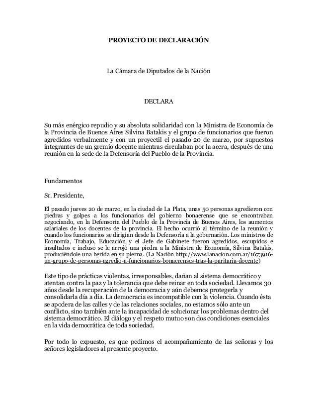 Repudio ataque funcionarios de la Provincia de Buenos Aires