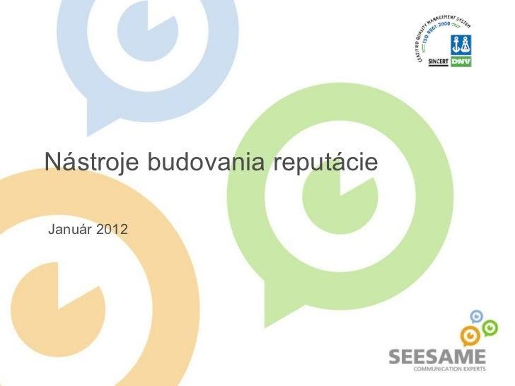 Reputacia 2012