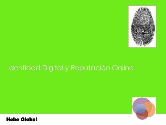 Identidad Digital y Reputación Online Full