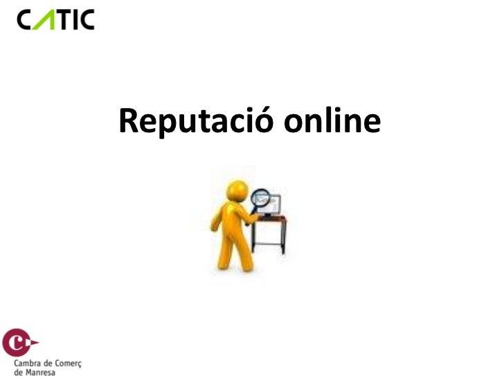 Reputació online cambra