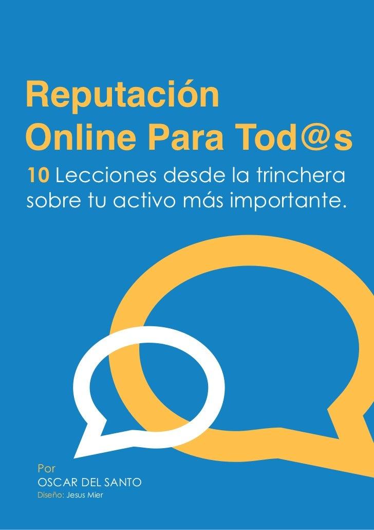 Reputacion Online Para Tod@s (1ª edición)