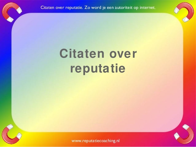 Citaten Over Planning : Reputatie citaten reputatiecoaching eduard de boer quotes