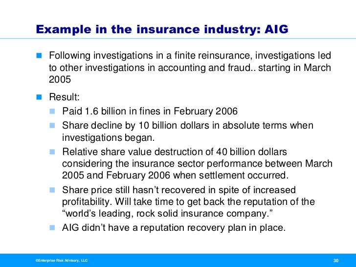 """aig accounting scandal On march 14, maurice """"hank"""" greenberg resigned his position as ceo of american international group (aig) amidst allegations of fraud and accounting manipulations at the world's largest insurer in an attempt to contain an escalating scandal, the company fired two more top executives on march."""