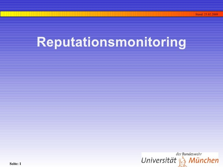 Reputationsmonitoring