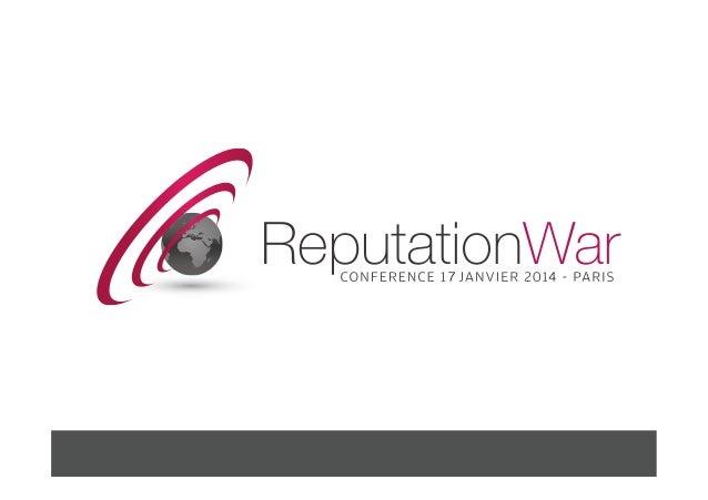 Reputation war 2014 introduction