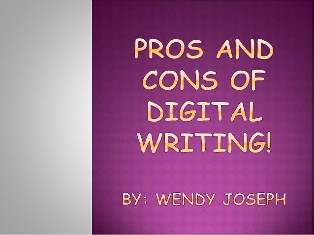 Pro Con Essays