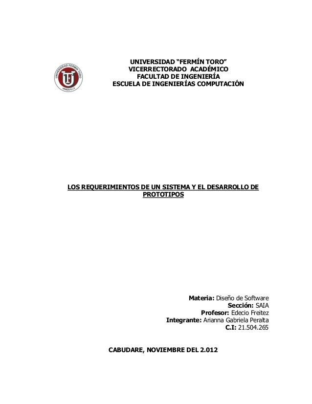 """UNIVERSIDAD """"FERMÍN TORO""""                VICERRECTORADO ACADÉMICO                  FACULTAD DE INGENIERÍA            ESCUE..."""
