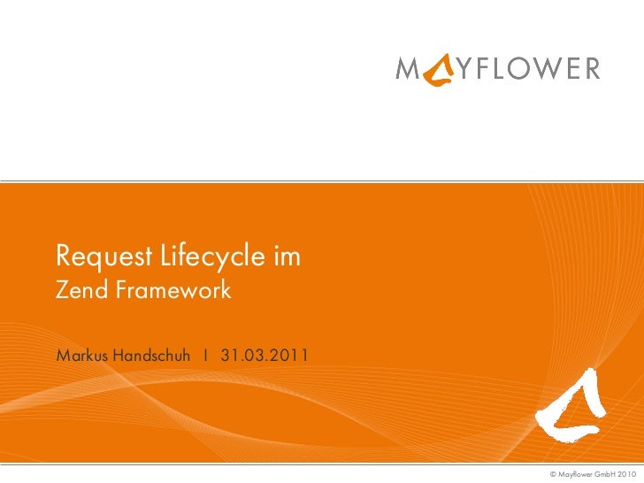 Request Lifecycle im Zend Framework