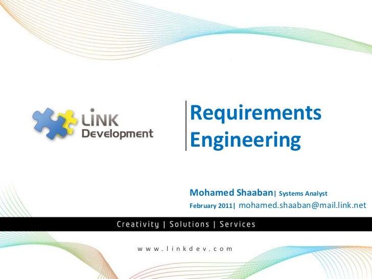 Requirements Management Part 1 - Management and Elicitation