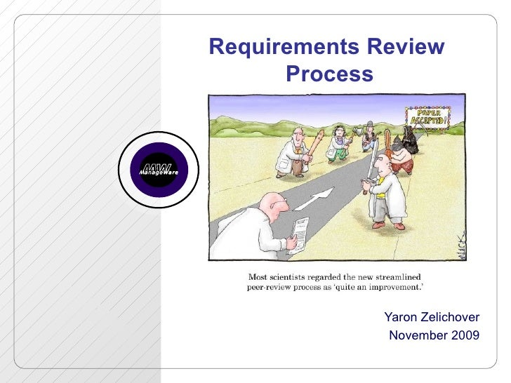 Requirements Review Process