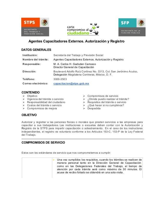Requisitos capacitadores externos for Ministerio de seguridad telefonos internos