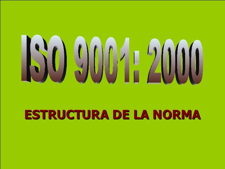 Requisitos de iso 9001