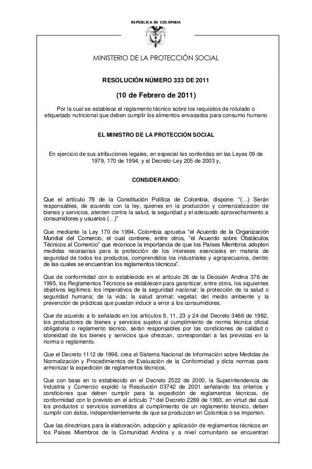 Res 333 de_feb_2011_rotulado_nutricional