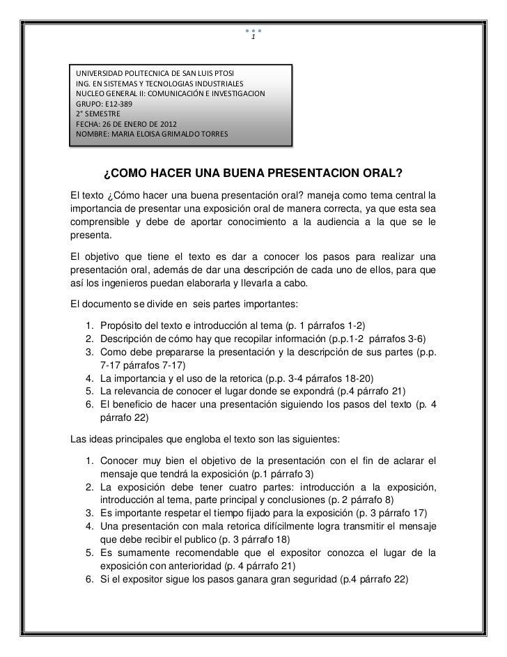 1 UNIVERSIDAD POLITECNICA DE SAN LUIS PTOSI ING. EN SISTEMAS Y TECNOLOGIAS INDUSTRIALES NUCLEO GENERAL II: COMUNICACIÓN E ...