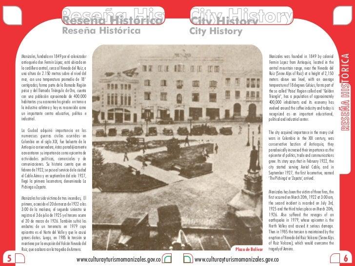 Reseña HistóricaHistory                                Reseña Histórica City History                                      ...