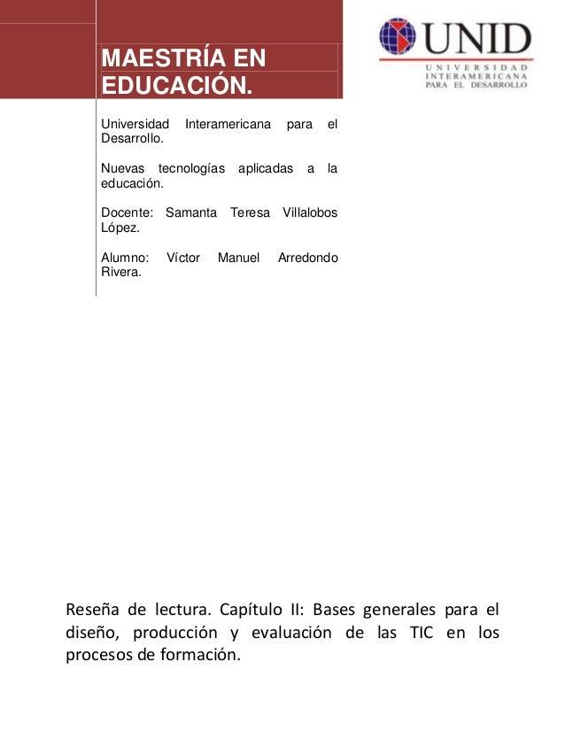 MAESTRÍA EN EDUCACIÓN. Universidad Interamericana para el Desarrollo. Nuevas tecnologías aplicadas a la educación. Docente...