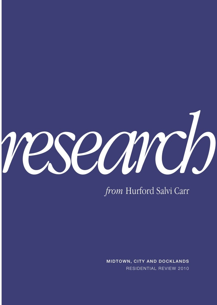 2011 Property Market Research  -hurford-salvi-carr