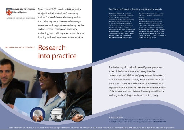 Practical matters We give priority to research that investigates issues of concern to teachers and learners. Please email ...