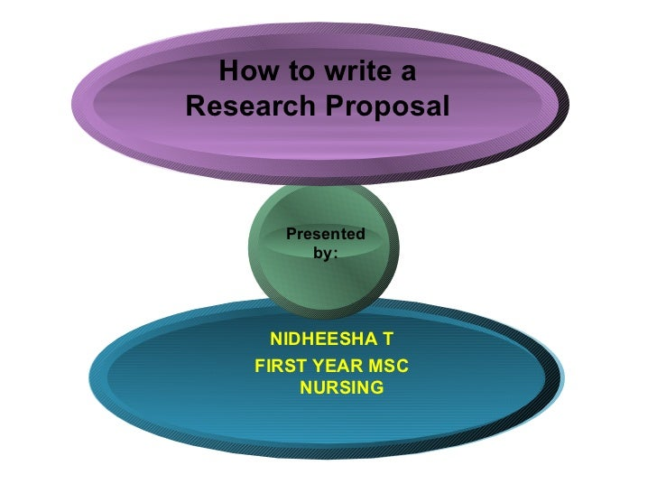 Msc research proposal