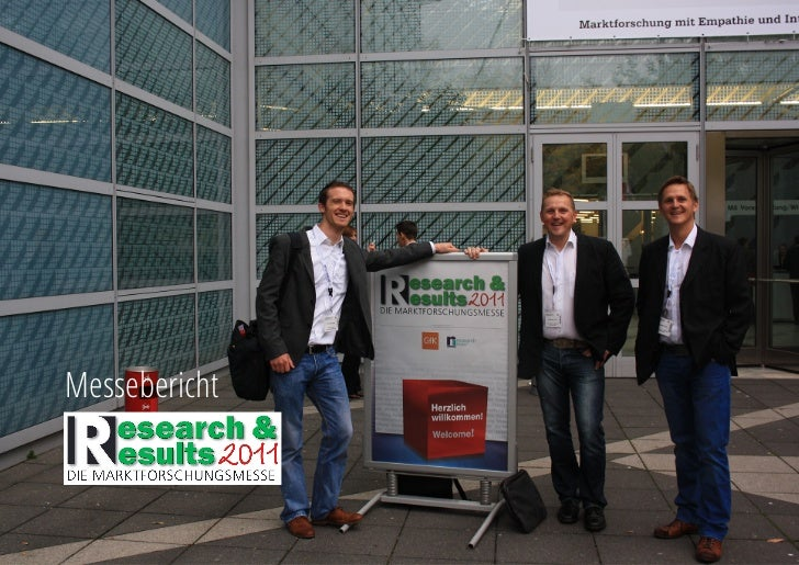 Research & Results 2011 - ein Messebericht