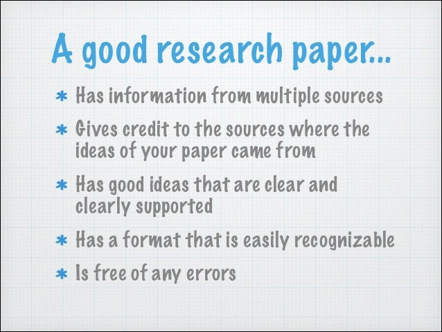5 paragraph research paper