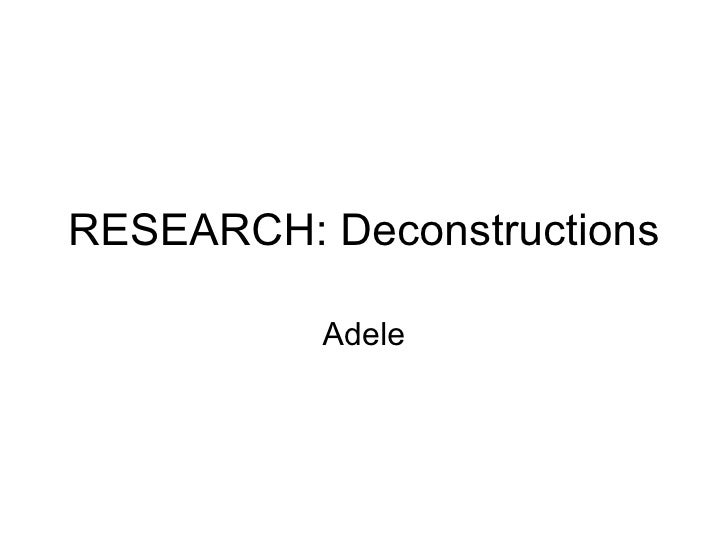 Research adele