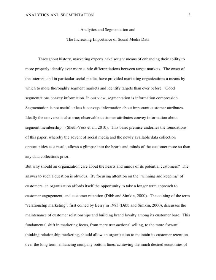 how to write a marketing research paper