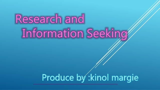 a study of the information seeking This article presents a case study of the information-seeking behavior of 7-year-old children in a semistructured situation in their school library media center.