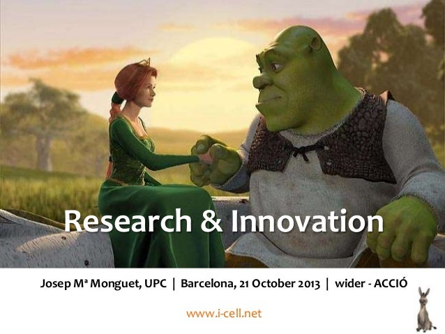 """""""Design Research"""" and Opportunities for Innovation. Monguet. UPC"""