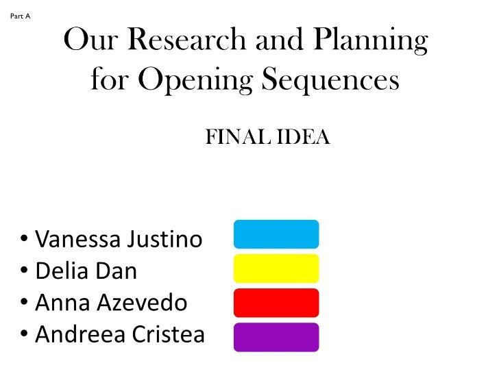 Research and planning final draft group
