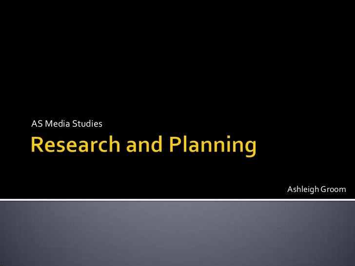 Research and planning powerpoint