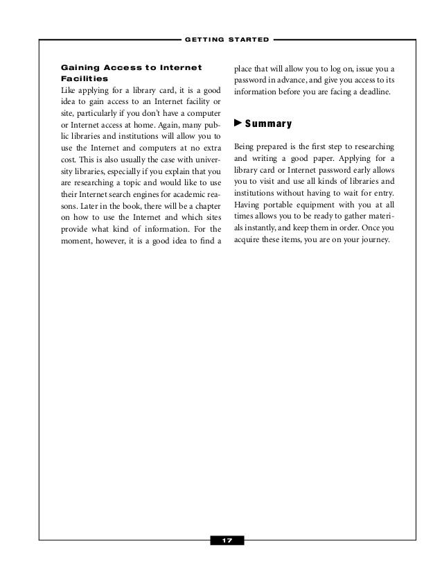 Early Childhood/Preschool Education Research Paper Starter