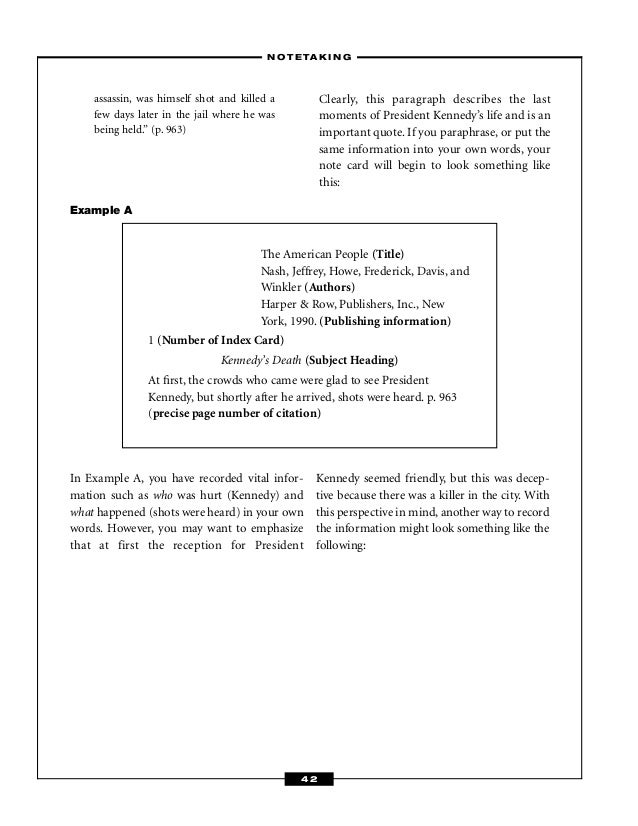 english language research paper reading booklet