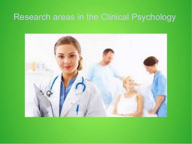Clinical psychology research
