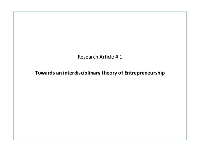 Research articles1