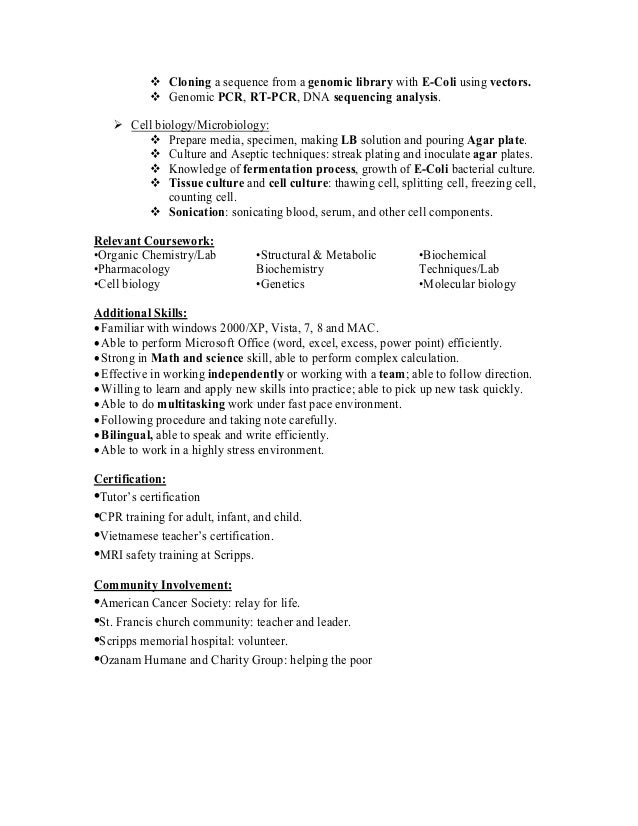 resume blasts