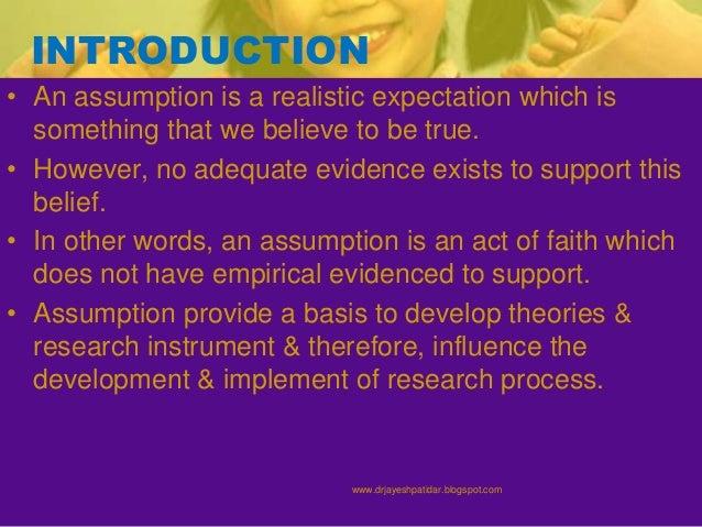 Assumptions in Financial Planning | Study.com