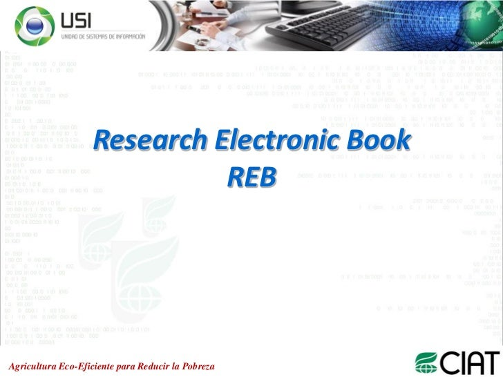 Research electronic book reb
