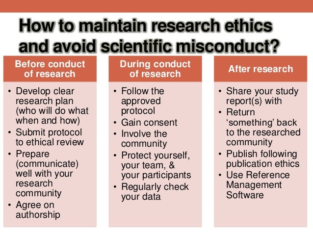 review of ethics in scientific research The paper examines the current provision for ethical review within the social sciences and considers how existent structures could be improved to protect human.