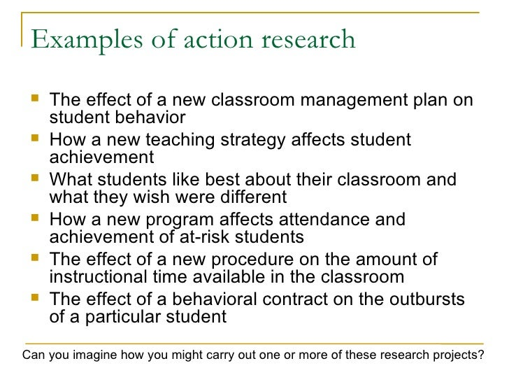 thesis proposal on classroom management